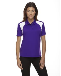 Ash City Extreme 75066 - Ladies Eperformance™ Color-Block Textured Polo