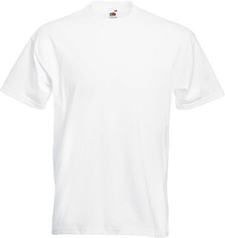 Fruit of the Loom SC61044 - T-Shirt Homme Manches Courtes 100% Coton