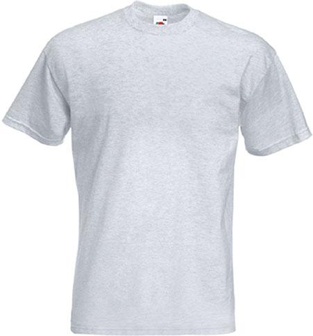 100/% coton T-shirt à manches courtes Fruit Of The Loom pour homme BC330