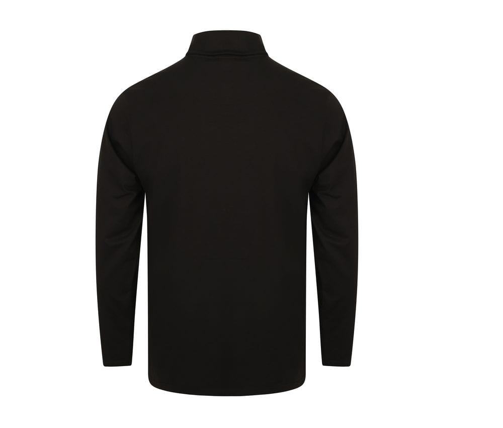 Henbury H020 - Long Sleeve Roll Neck Top
