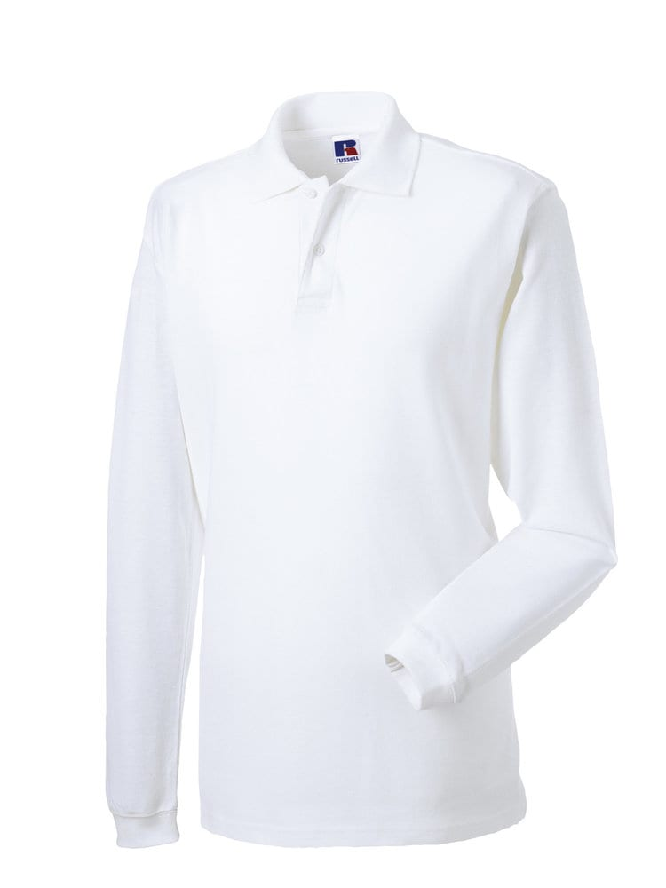 Russell RU569L - Classic Cotton Polo  Shirt Met Lange Mouw