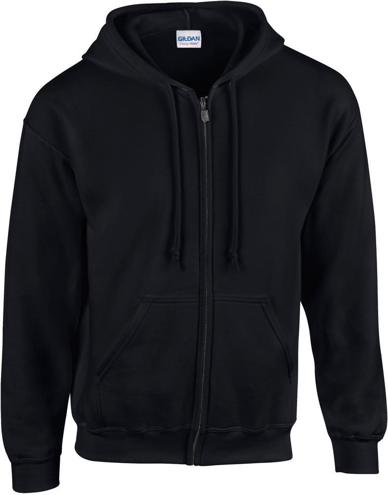 Gildan GI18600 - Kapuzen-Sweatshirt mit Reißverschluss Herren