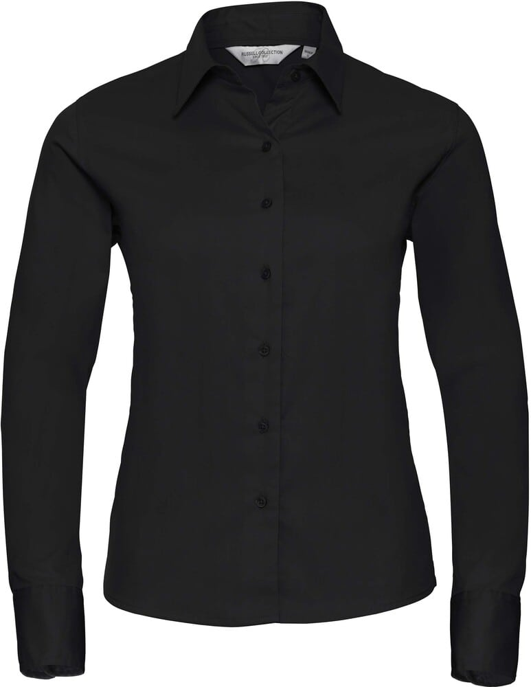 Russell Collection RU916F - Camisa Classic Twill En Manga Larga