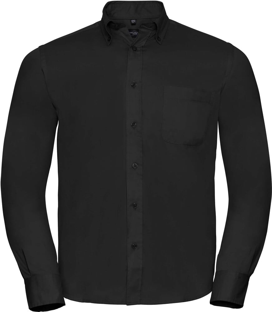 Russell Collection RU916M - Classic Twill Shirt LS