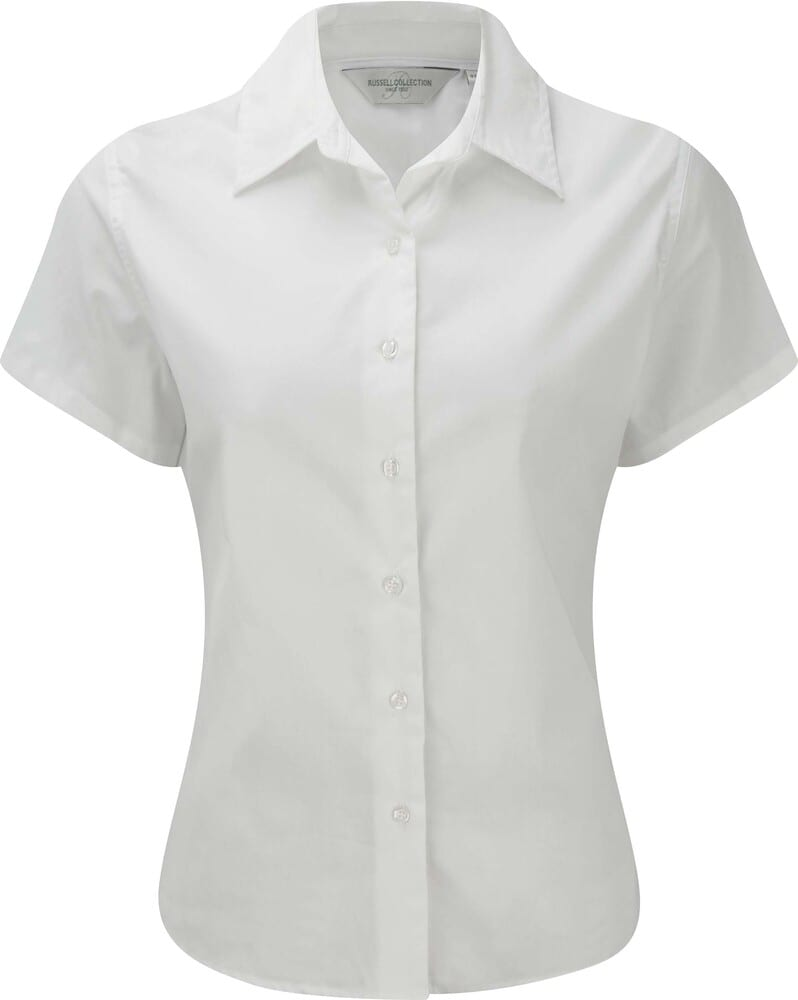Russell Collection RU917F - Ladies' Short Sleeve Classic Twill Shirt