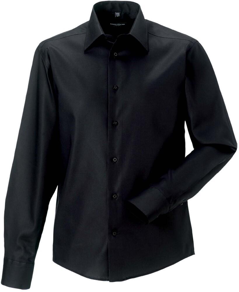 Russell Collection RU958M - Ultimate Strijkvrij Overhemd Met Lange Mouwen