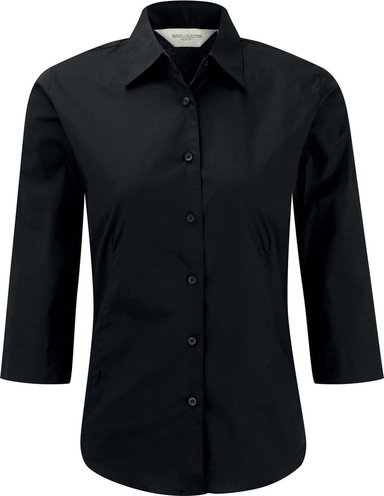 Russell Collection RU946F - Ladies' 3/4 Sleeve Fitted Shirt