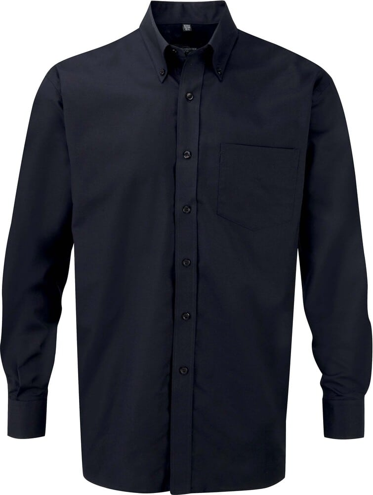 Russell Collection RU932M - Men's Long Sleeve Easy Care Oxford Shirt