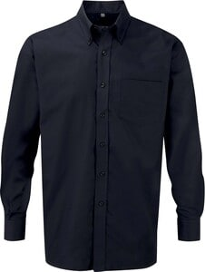 Russell Collection RU932M - Chemise Oxford Homme Manches Longues