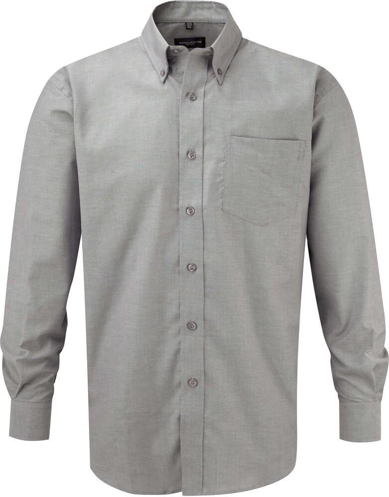 Russell Collection RU932M - Camicia Oxford maniche lunghe