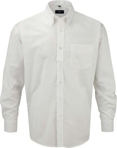 Russell Collection RU932M - Mens Long Sleeve Easy Care Oxford Shirt
