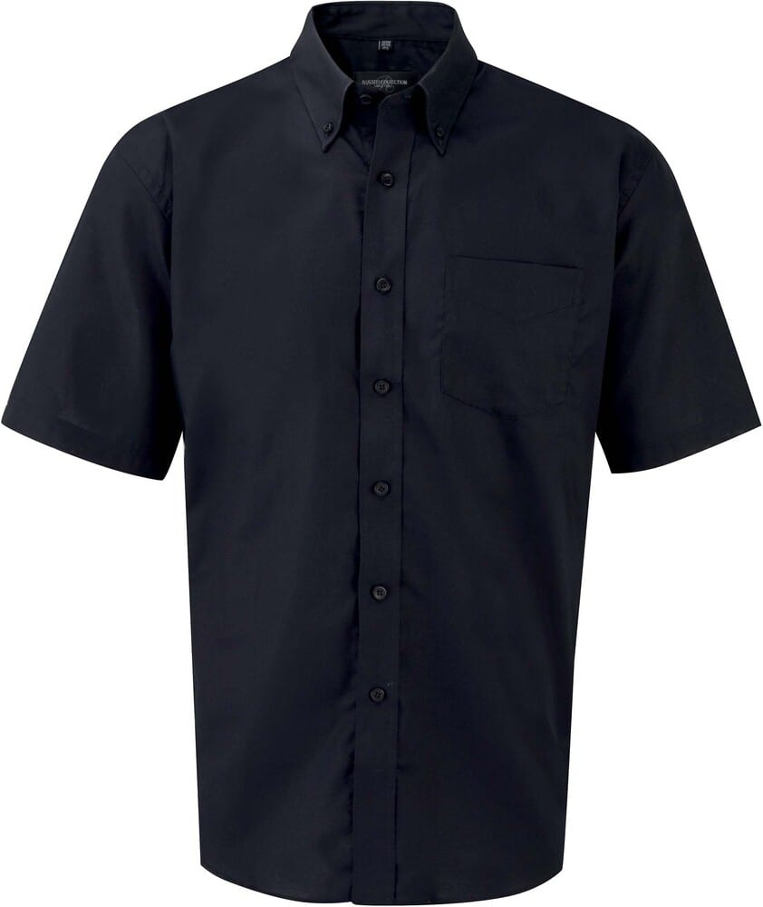 Russell Collection RU933M - Men's Short Sleeve Easy Care Oxford Shirt