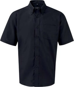 Russell Collection RU933M - Mens Short Sleeve Easy Care Oxford Shirt