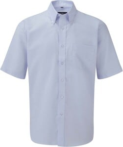 Russell Collection RU933M - Chemise Oxford Homme Manches Courtes