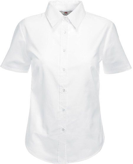Fruit of the Loom SC65000 - Lady Fit Oxford Shirt Short Sleeves (65-000-0)