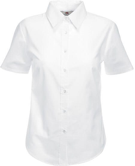 Fruit of the Loom SC65000 - Chemise Femme Oxford Manches Courtes