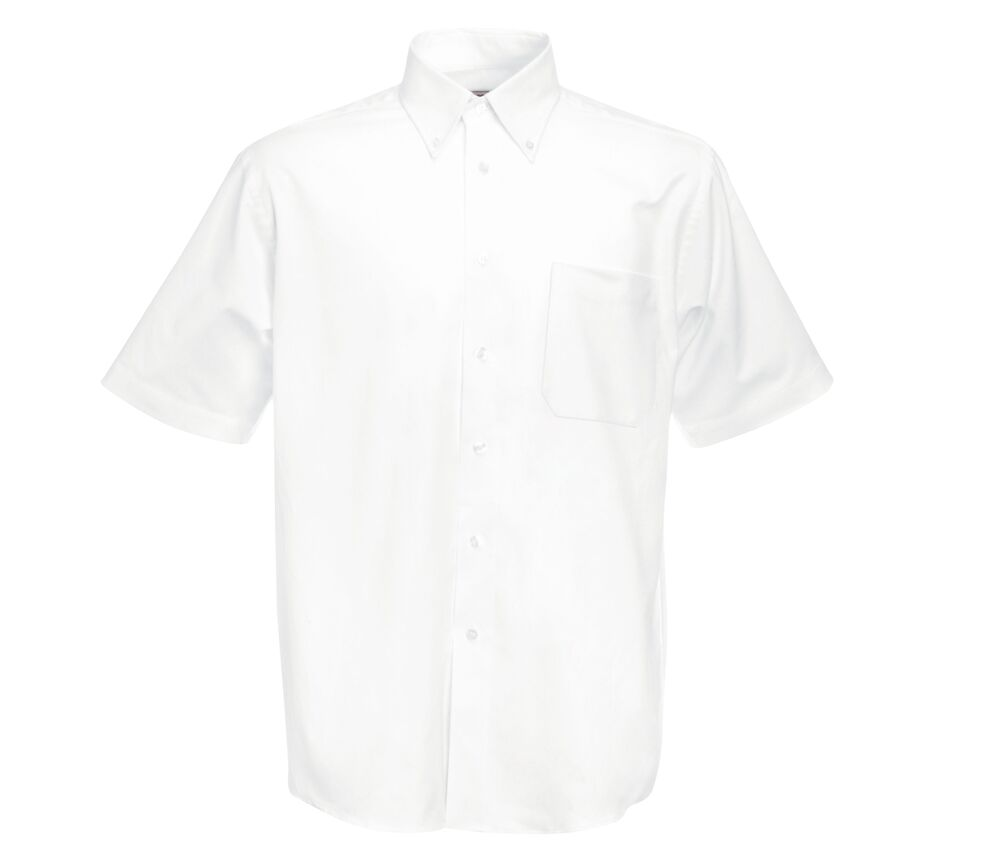 Fruit of the Loom SC65112 - Chemise Oxford Manches Courtes