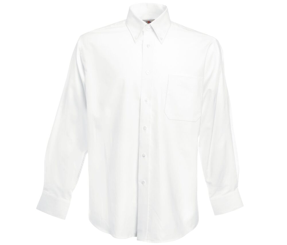 Fruit of the Loom SC65114 - Camisa Oxford En Manga Larga