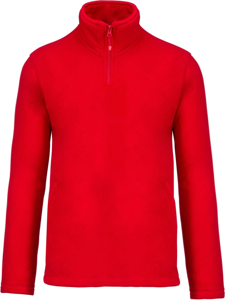 Kariban K912 - ENZO - ZIP NECK MICRO FLEECE TOP