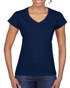 Gildan 64V00L - T-shirt Col-V pour Femme