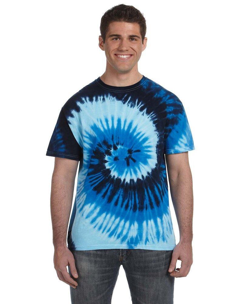 Tie-Dye CD100 - T-shirt teint noué 100% coton, 5,4 oz