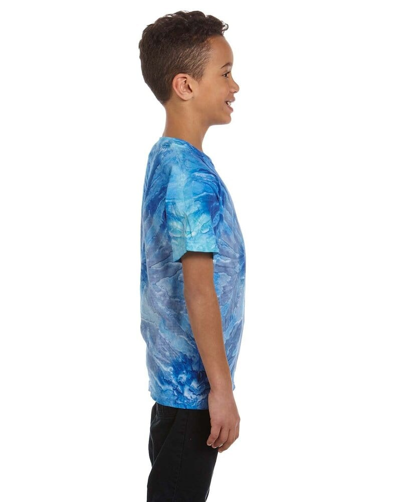 Tie-Dye CD100Y - Youth 5.4 oz., 100% Cotton Tie-Dyed T-Shirt