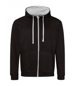 AWDIS JH053 - Sweat-Shirt Zippé 100% Coton Doux