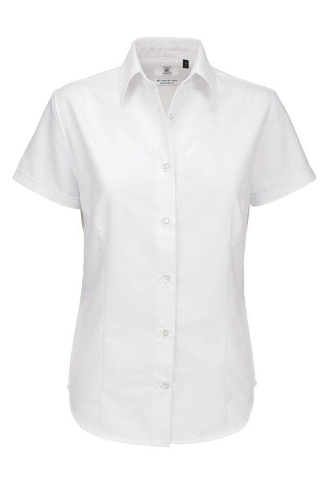 B&C BA709 - Camicia donna maniche corte Oxford