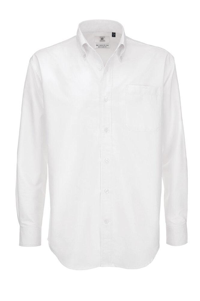 B&C BA706 - Camicia uomo maniche lunghe Oxford