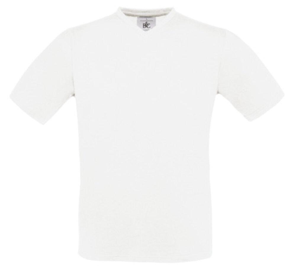 B&C BA108 - Camiseta con cuello en V Exact