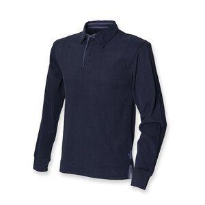 Front Row FR43M - Camisa de rugby de manga comprida super suave