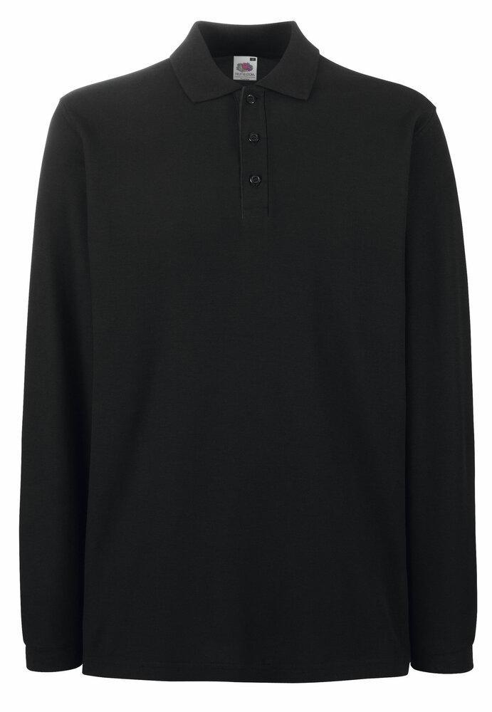 Fruit of the Loom SS258 - Premium koszulka Polo z długim rękawem