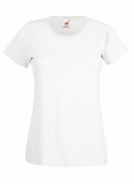 Fruit of the Loom SS050 - Dames valueweight t-shirt