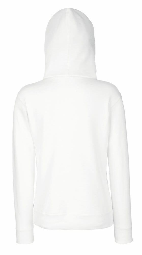 Fruit of the Loom SS312 - Sweat-shirt à capuche zippé femme Classic 80/20