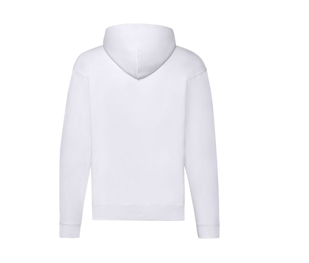 Fruit of the Loom SS222 - Classic 80/20 sweatshirt jack met capuchon