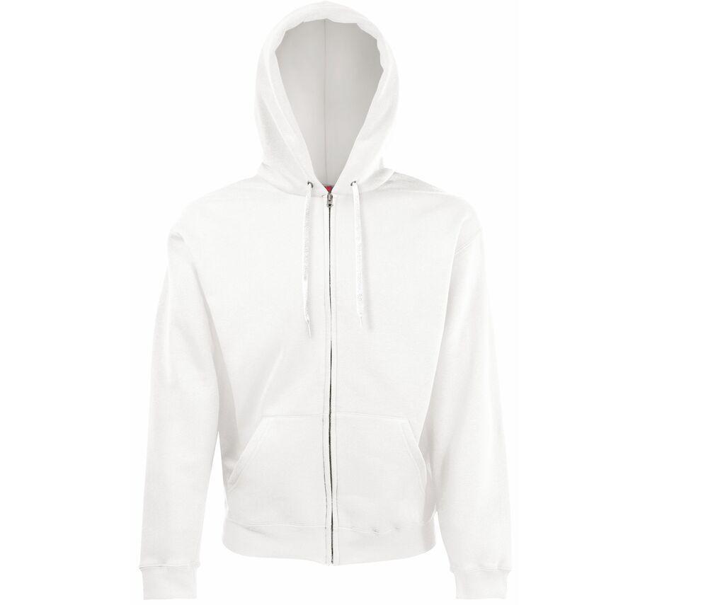Fruit of the Loom SS222 - Classic 80/20 hooded sweatshirt jacket