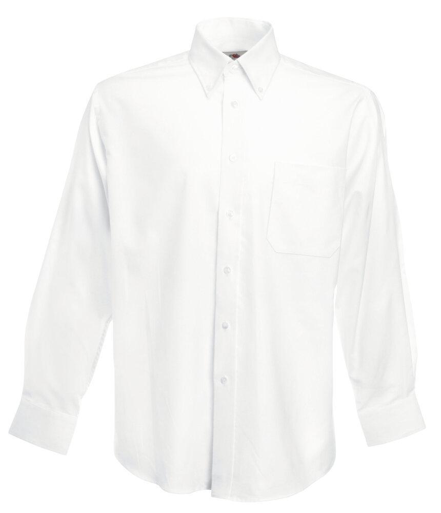 Fruit of the Loom SS114 - Oxford Langarm-Shirt