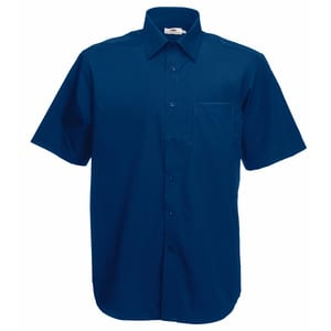 Fruit of the Loom SS116 - Poplin short sleeve shirt