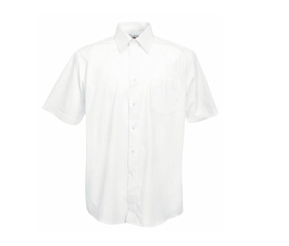 Fruit of the Loom SS116 - Poplin short sleeve shirt