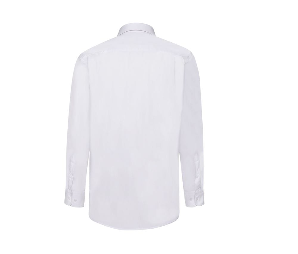 Fruit of the Loom SS118 - Poplin long sleeve shirt