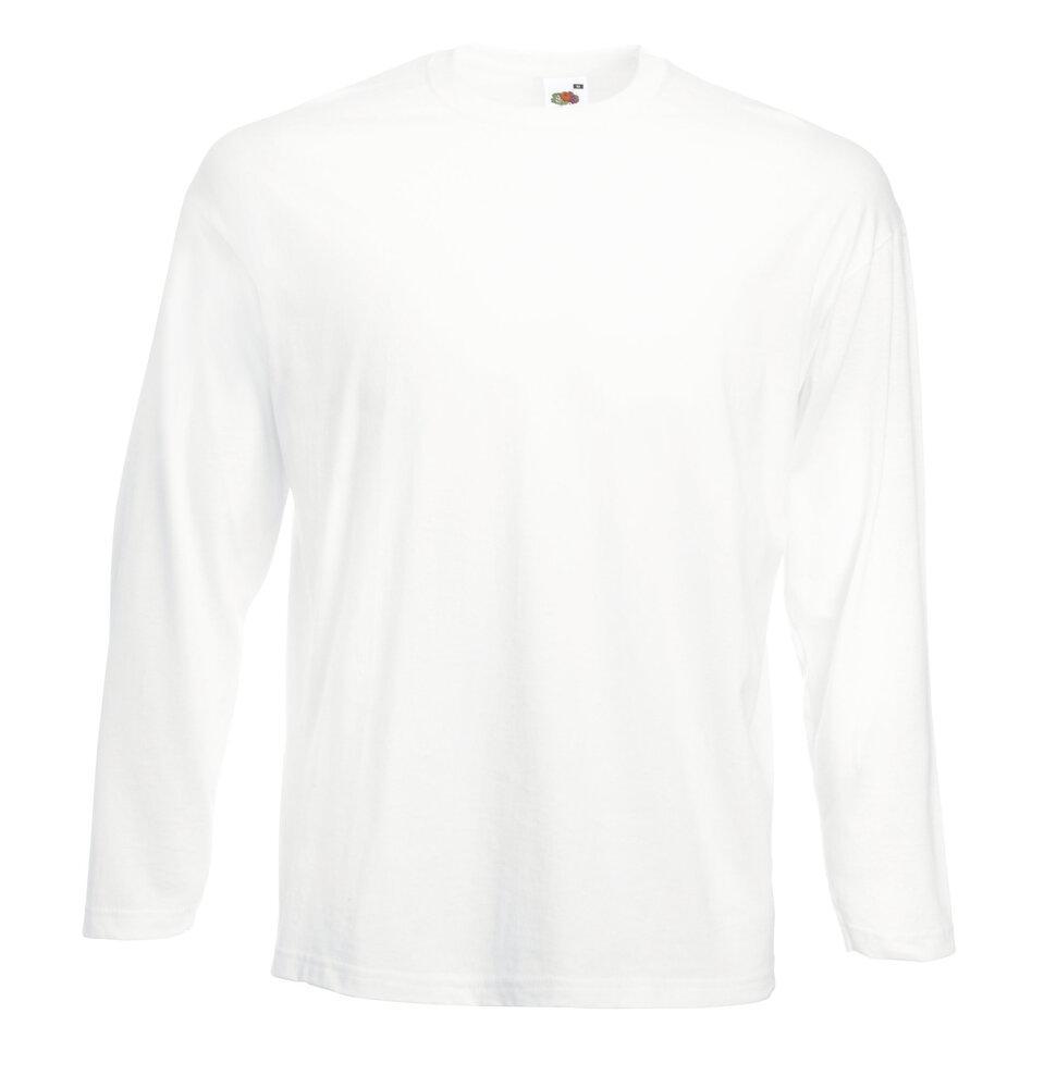 Fruit of the Loom SS032 - Langarm Herren-T-Shirt Valueweight