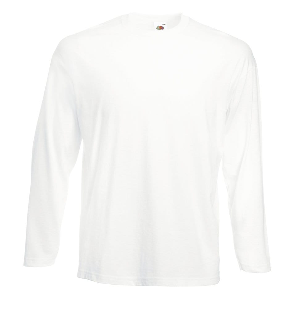 Fruit of the Loom SS032 - Valueweight t-shirt met lange mouwen