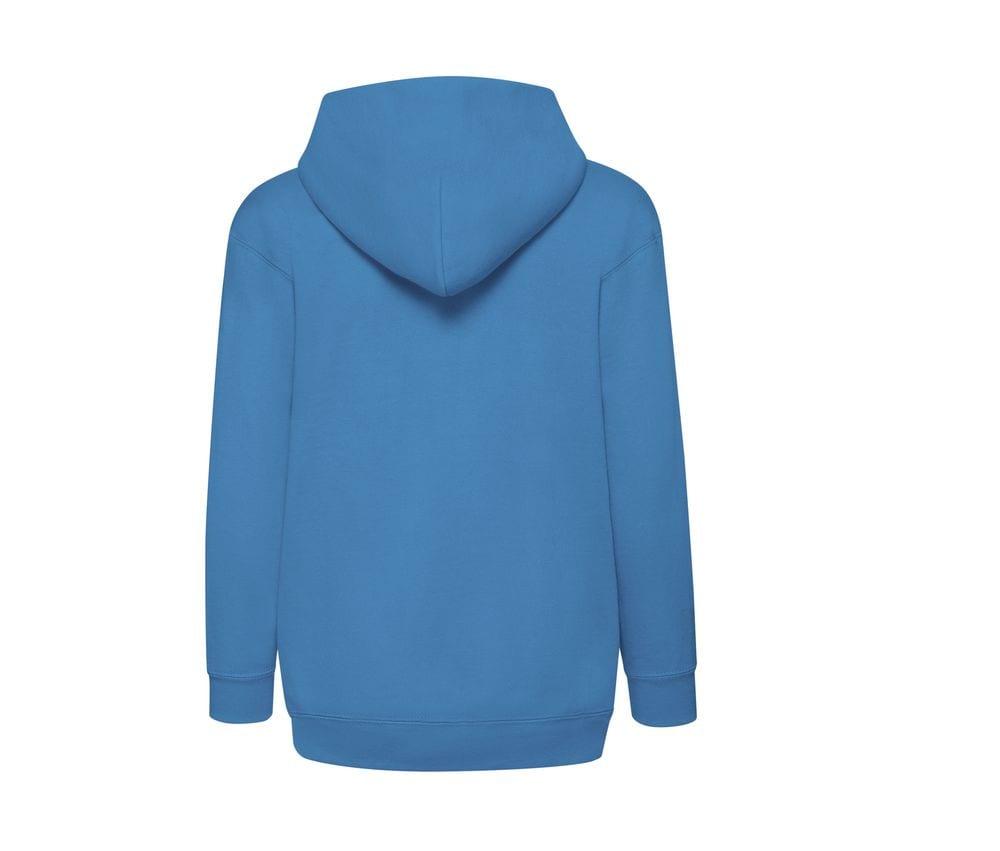 Fruit of the Loom SS225 - Classic 80/20 kids hooded sweatshirt jacket
