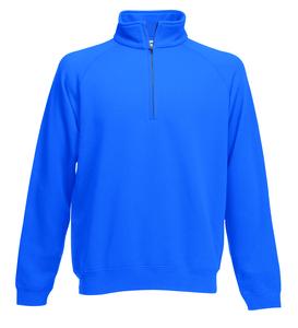 Fruit of the Loom SS830 - Premium 70/30 zip neck sweatshirt