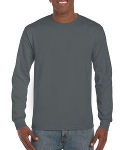 Gildan GD014 - Ultra Cotton™ adult t-shirt met lange mouw