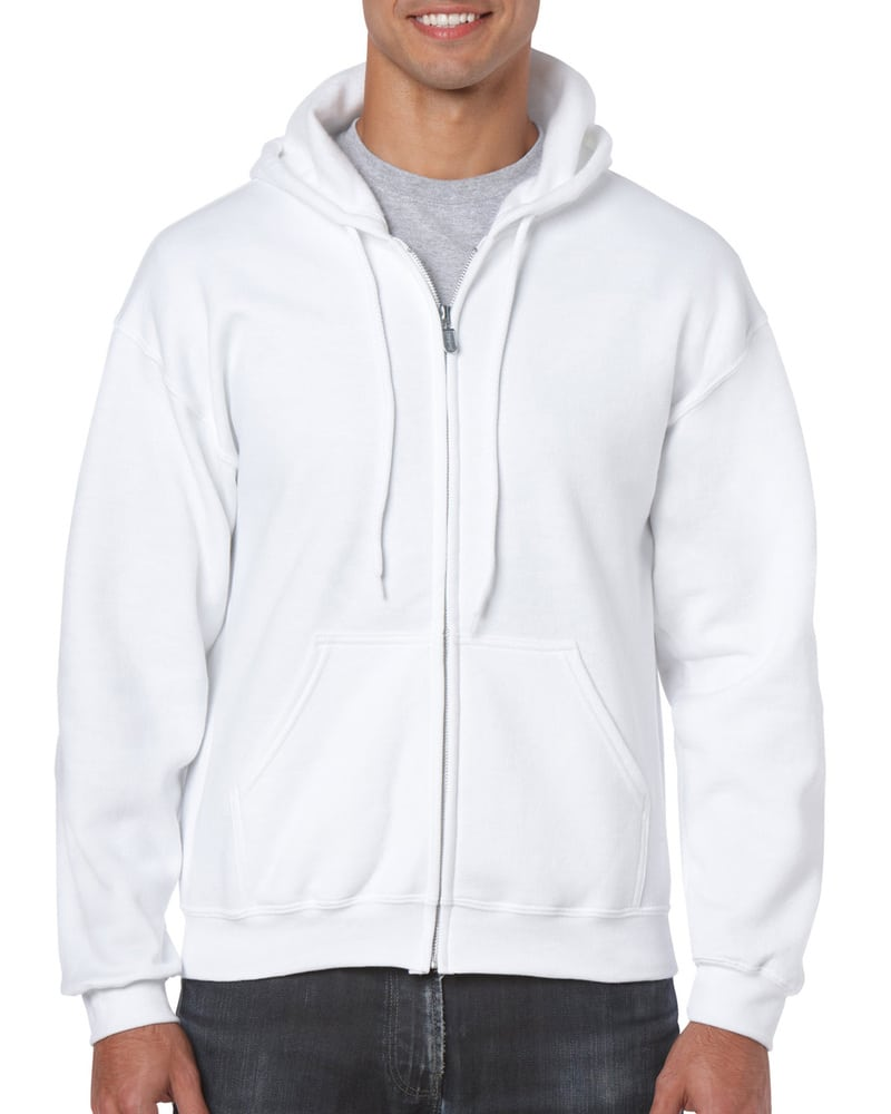Gildan GD058 - HeavyBlend ™ sweatshirt met volledige ritssluiting