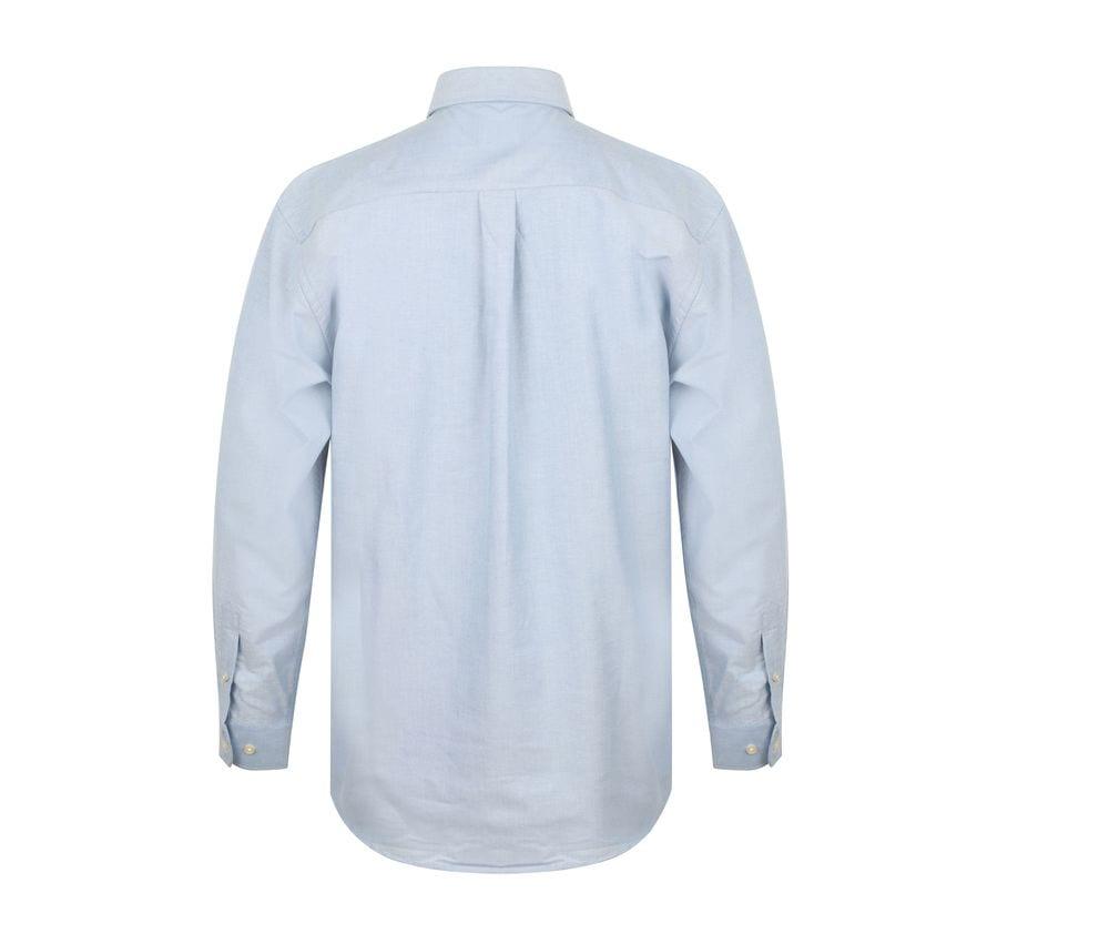Henbury HB510 - Camicia Oxford classica a maniche lunghe