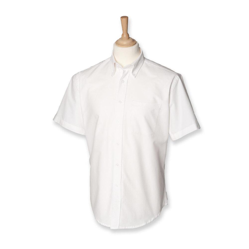 Henbury HB515 - Short sleeve classic Oxford shirt