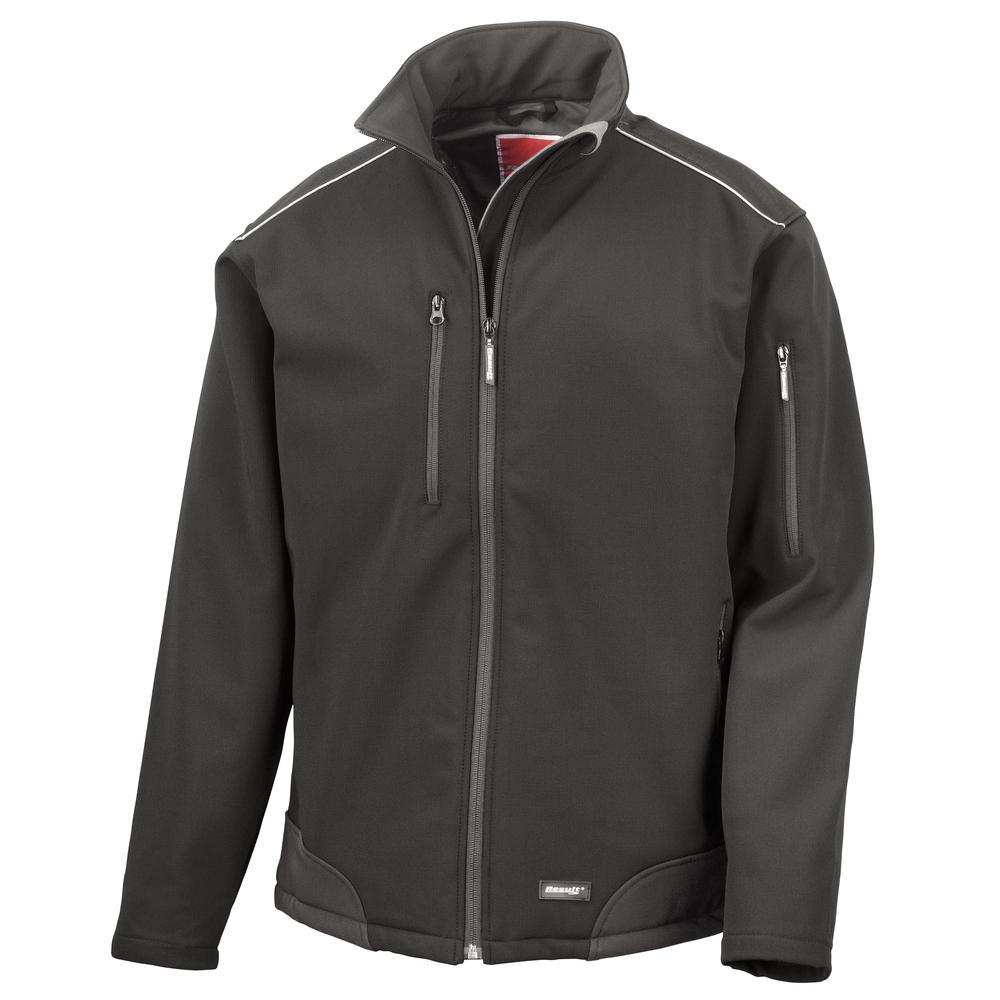 Result R124A - Ripstop Softshell-Profil Arbeitskleidung Jacke