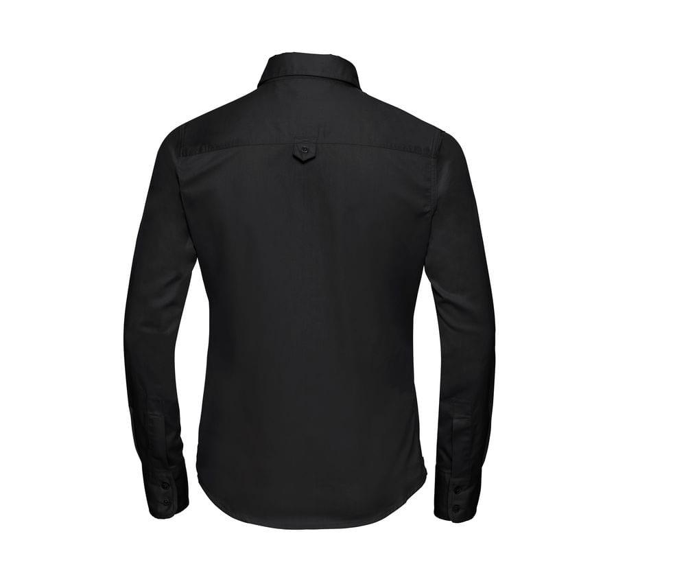 Russell J916F - lange Hülse klassisches Twill Shirt